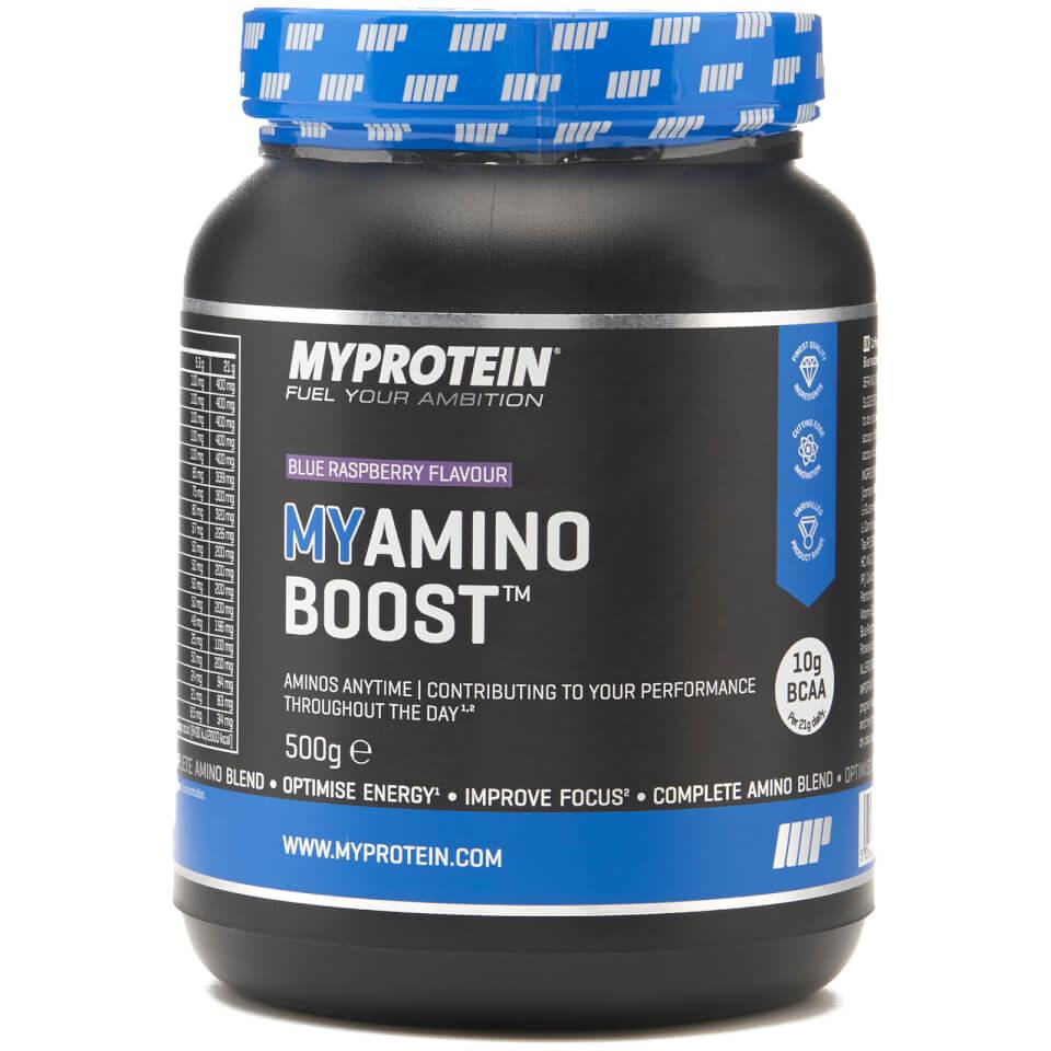 Foto Myamino Boost™ - 500g - Barattolo - Lampone Blu Myprotein Nutrizione sportiva