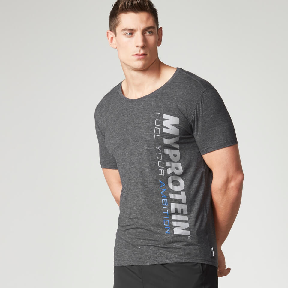 Foto Myprotein Men's Tag T-Shirt - Grey - XL Camicie e top