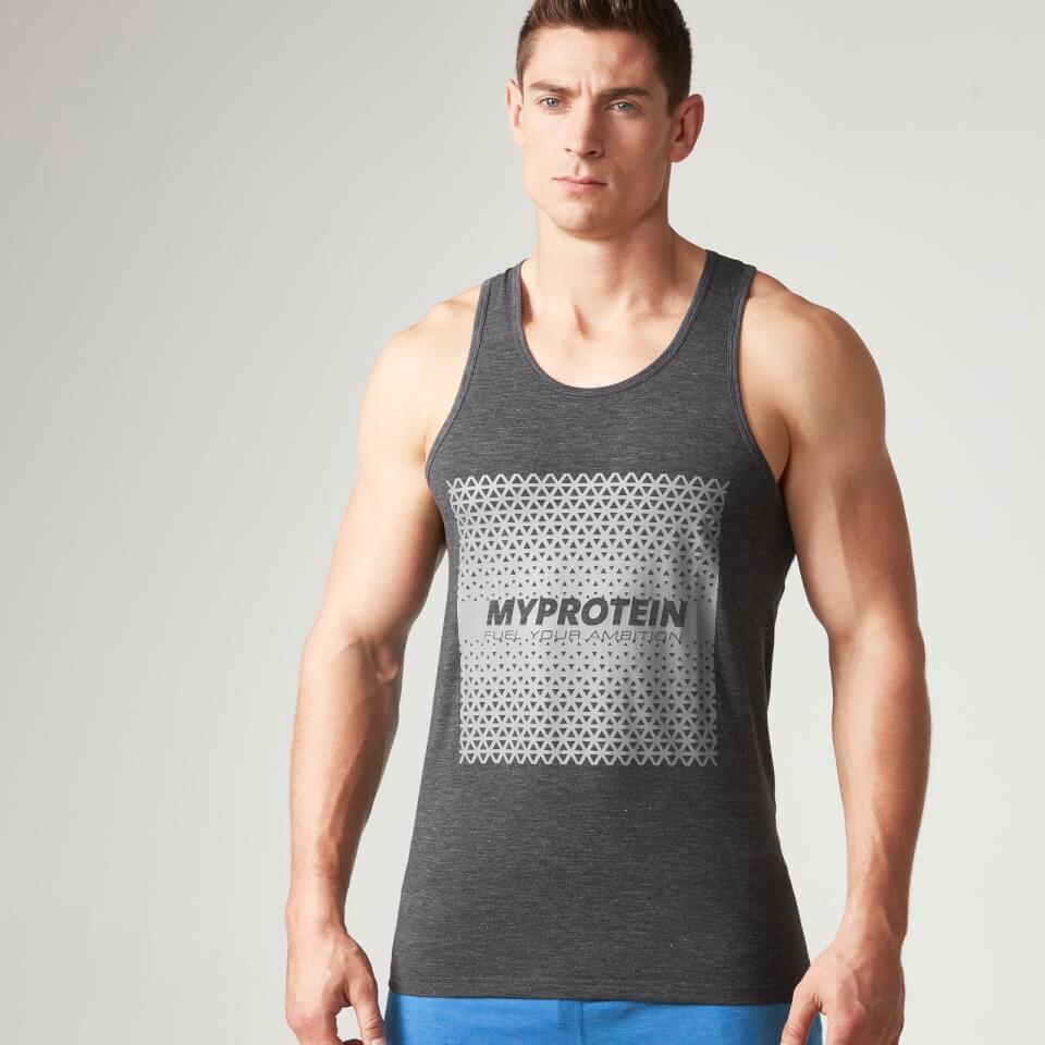 Foto Myprotein Men's Tag Stringer Vest - Grey - L Vesti
