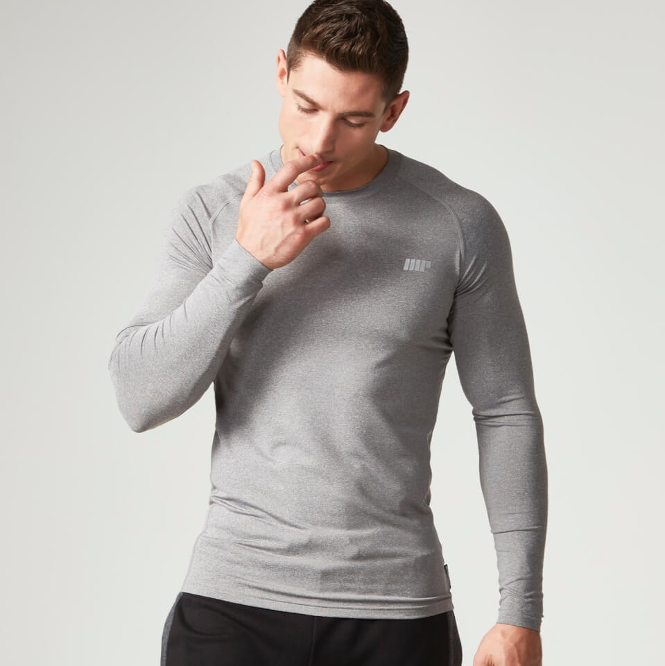 Foto Myprotein Men's Reflective Long Sleeve Top - Grey - XL