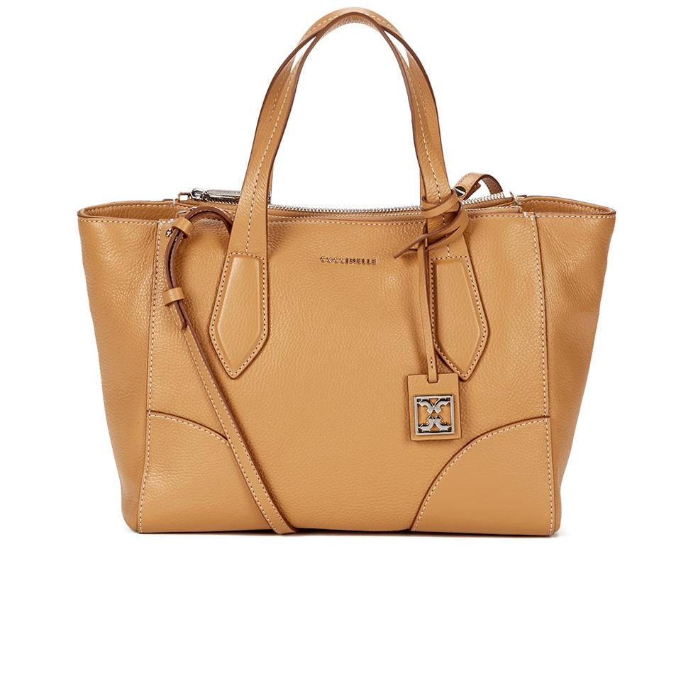 90f3d8ec32 Coccinelle Women's Brad Leather Tote Bag - Light Tan