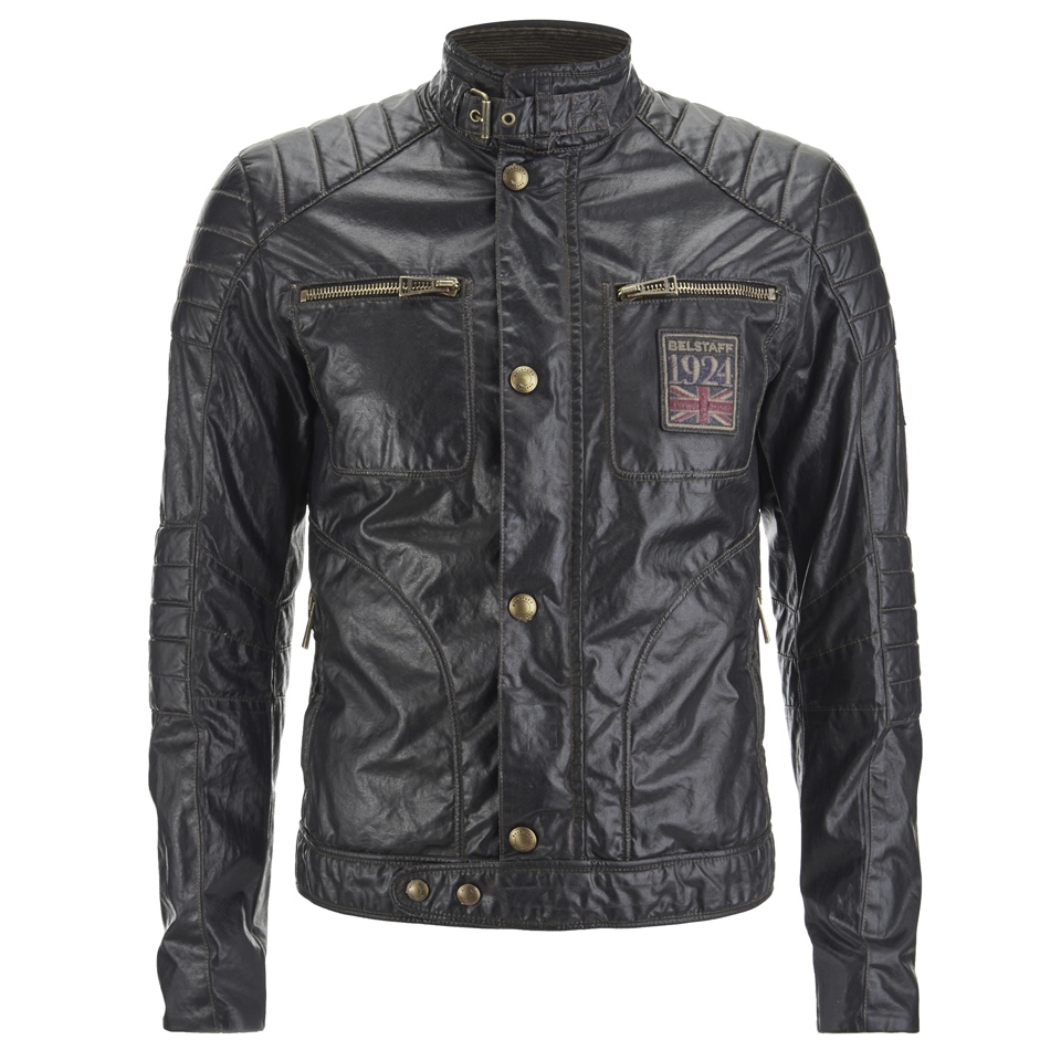 belstaff men 39 s weybridge jacket black free uk delivery. Black Bedroom Furniture Sets. Home Design Ideas