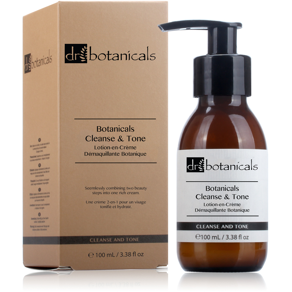 Dr Botanicals Cleanse and Tone Cream (100ml) 11211269
