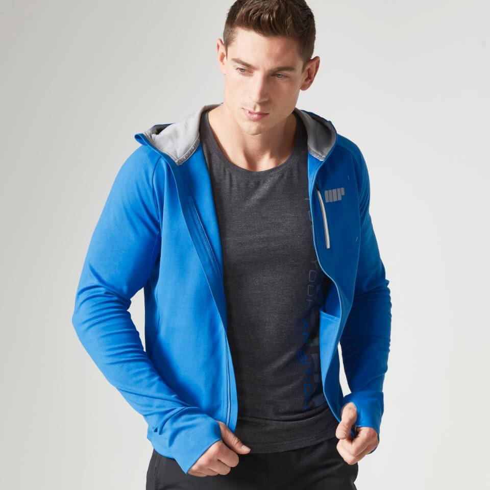 Foto Myprotein Men's Premium Training Zip Hoodie - Blue - S