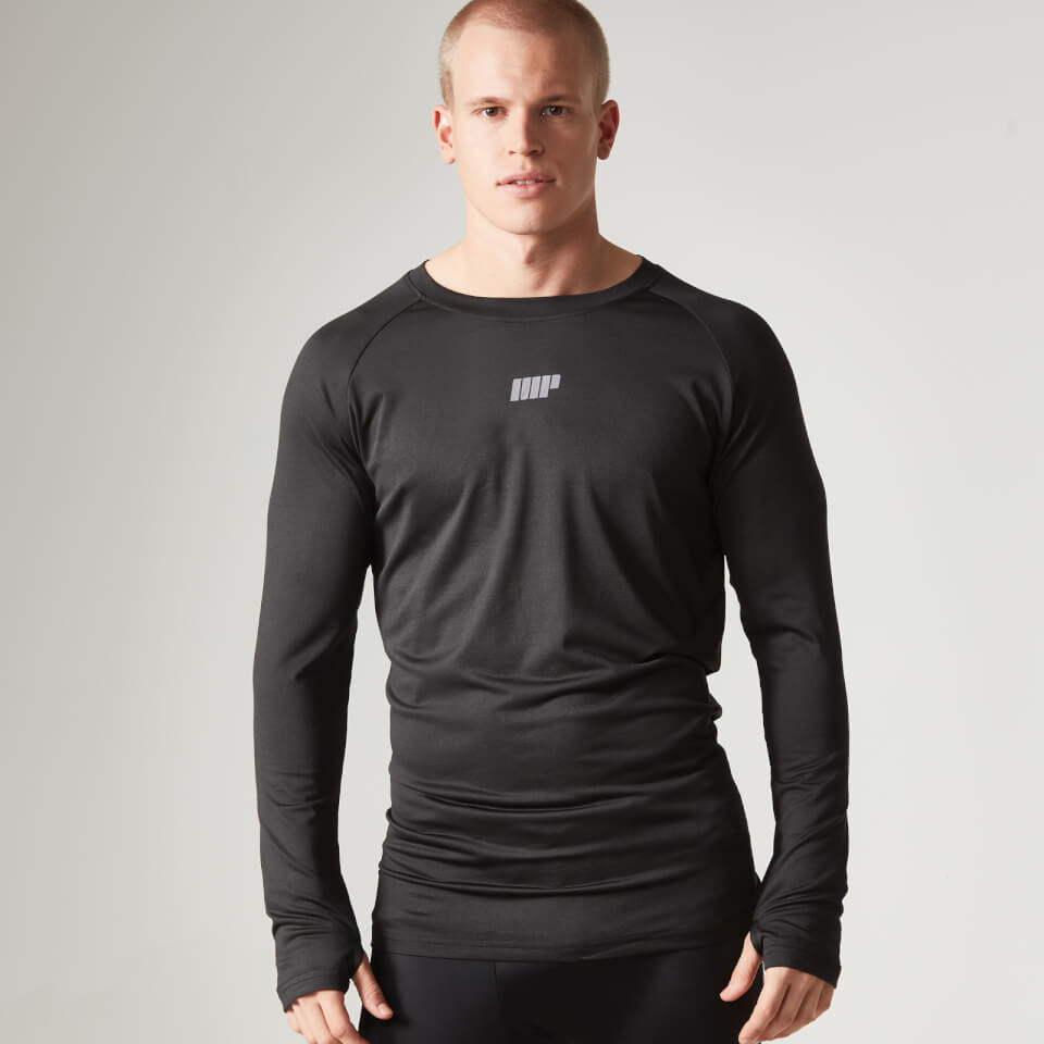 Foto Myprotein Men's Long Sleeve Loose Fit Training Top - Black - XL Camicie e top
