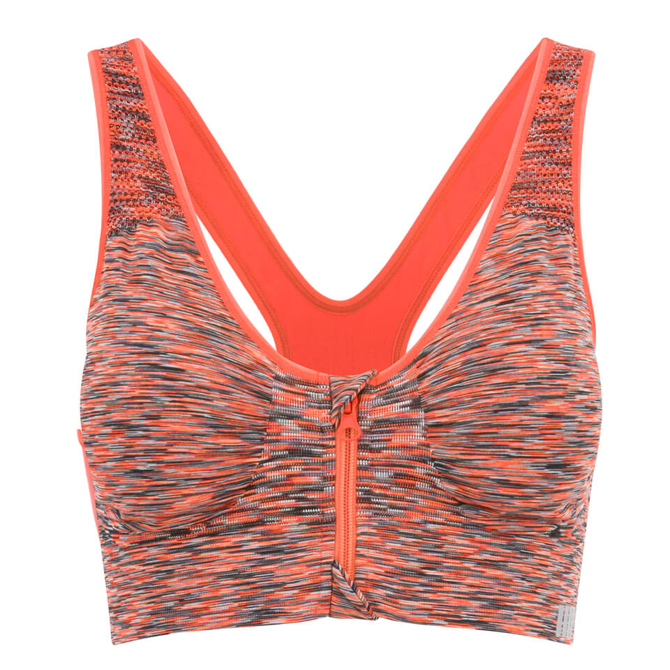 myprotein-women-medium-support-zip-front-sports-bra-orange-marl-12