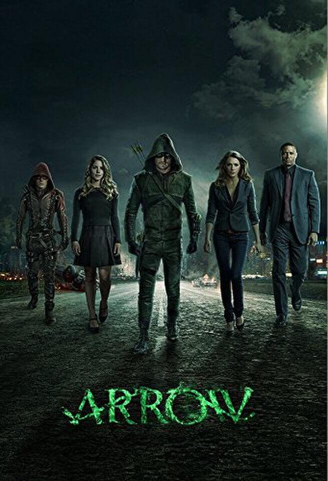Arrow - Series 1-4