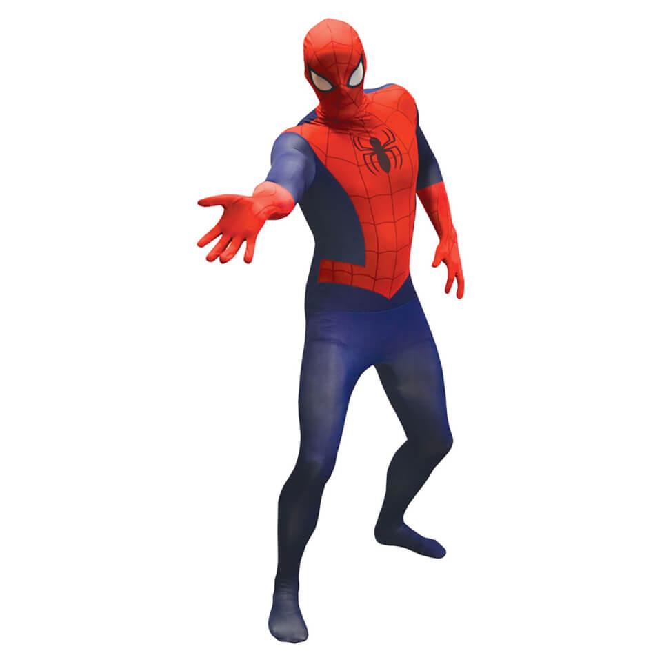 Marvel Spider Man Erwachsene Value Morphsuit XL Red Blue
