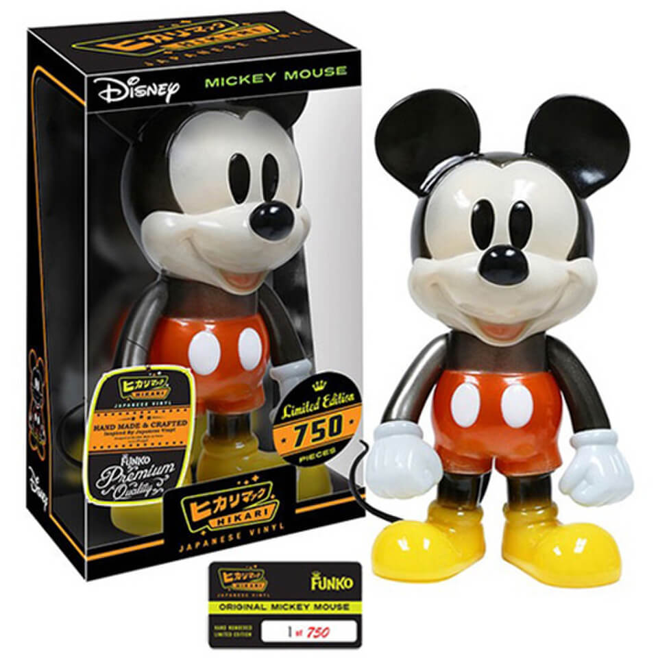 disney mickey mouse hikari sofubi vinyl figure pop in a. Black Bedroom Furniture Sets. Home Design Ideas