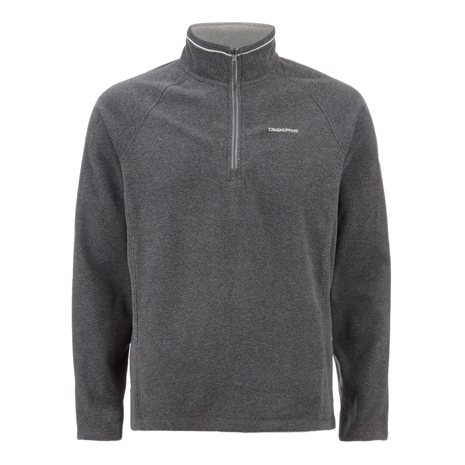 craghoppers-men-selby-half-zip-microfleece-jumper-black-pepper-marl-s-black