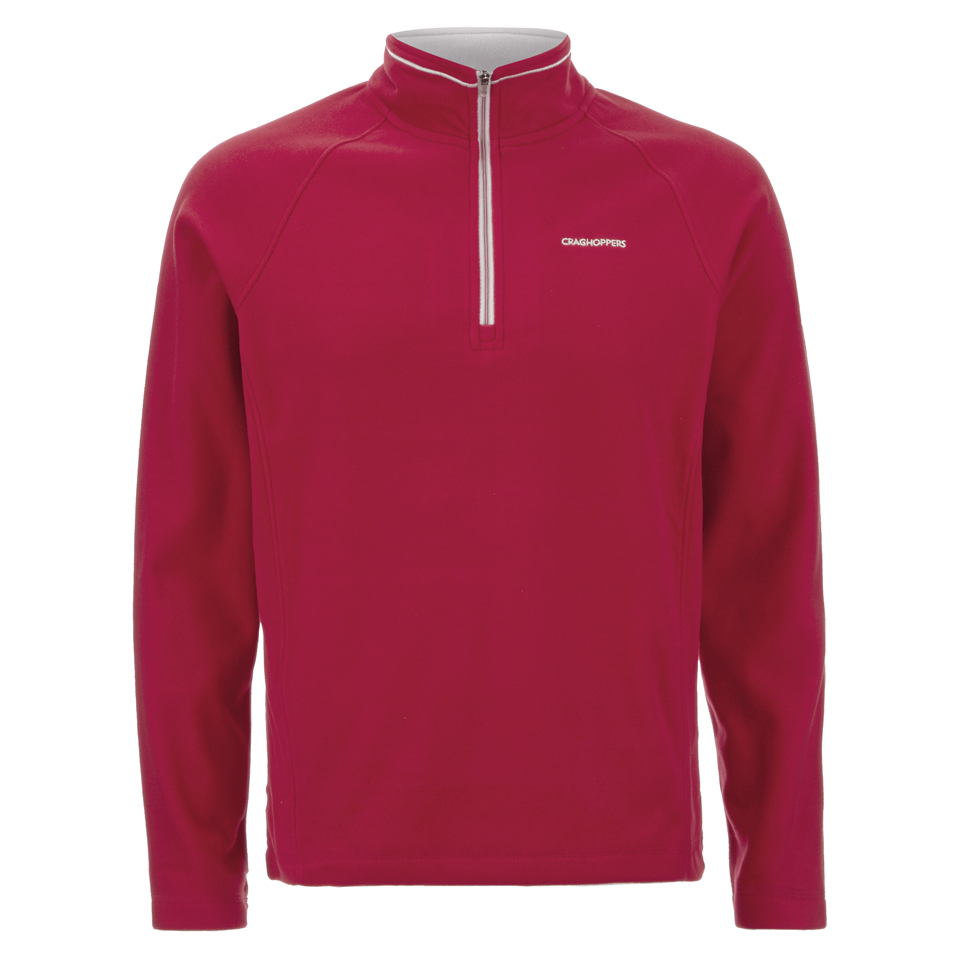 craghoppers-men-selby-half-zip-microfleece-jumper-chilli-m