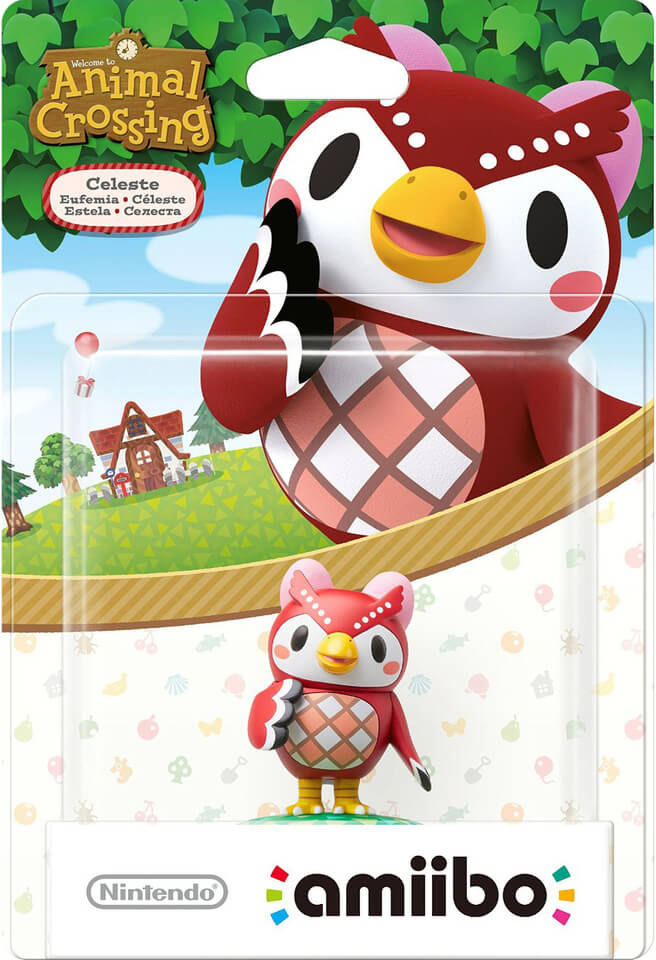 Figura Amiibo Estela - Animal Crossing