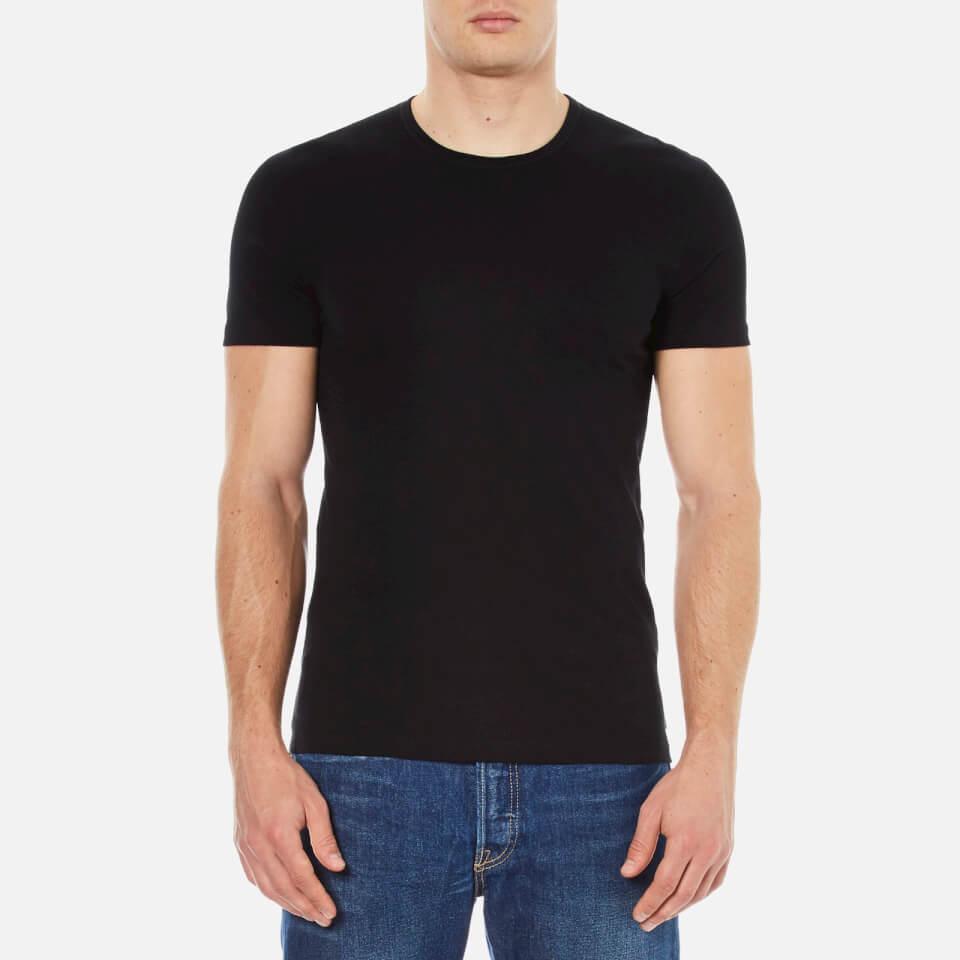 Paul Smith Accessories Mens Crew Neck T-shirt Black L