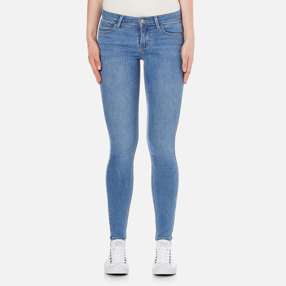 Levis Womens 710 Flawlessfx Super Skinny Jeans Spirit Song W27/l32