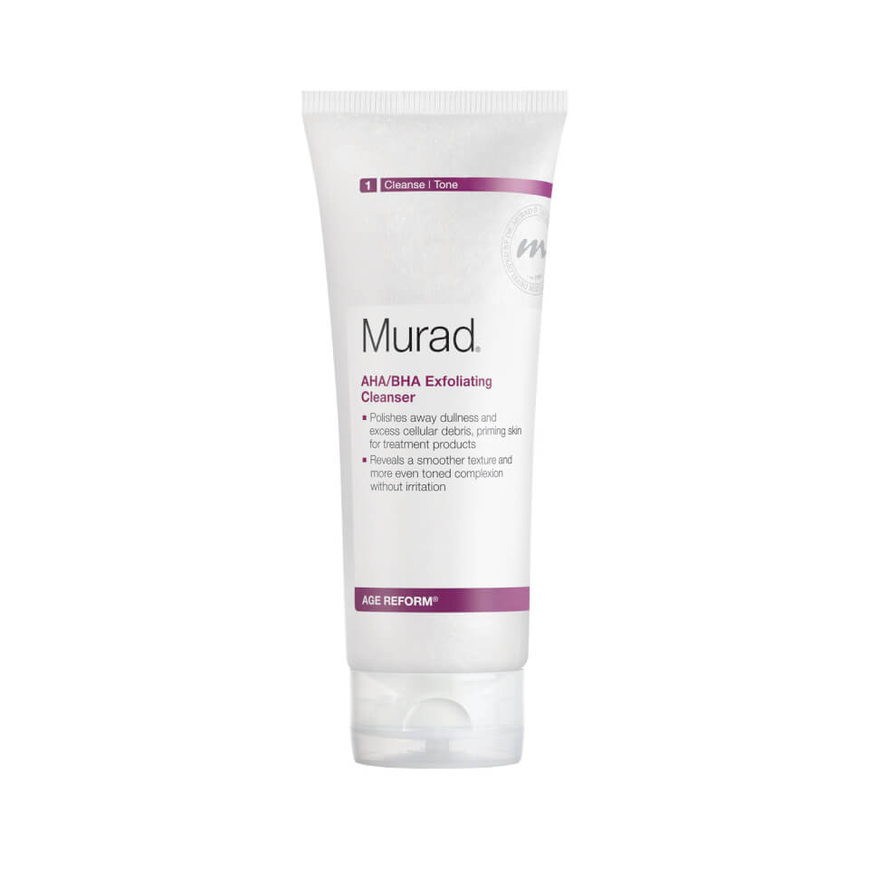 Murad Age Reform AHA-BHA Exfoliating Cleanser (200ml)