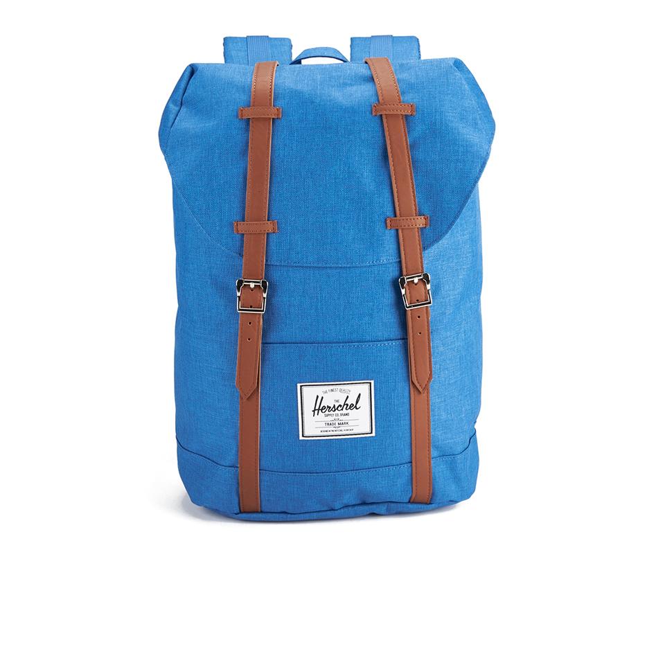 herschel retreat crosshatch backpack cobalt. Black Bedroom Furniture Sets. Home Design Ideas