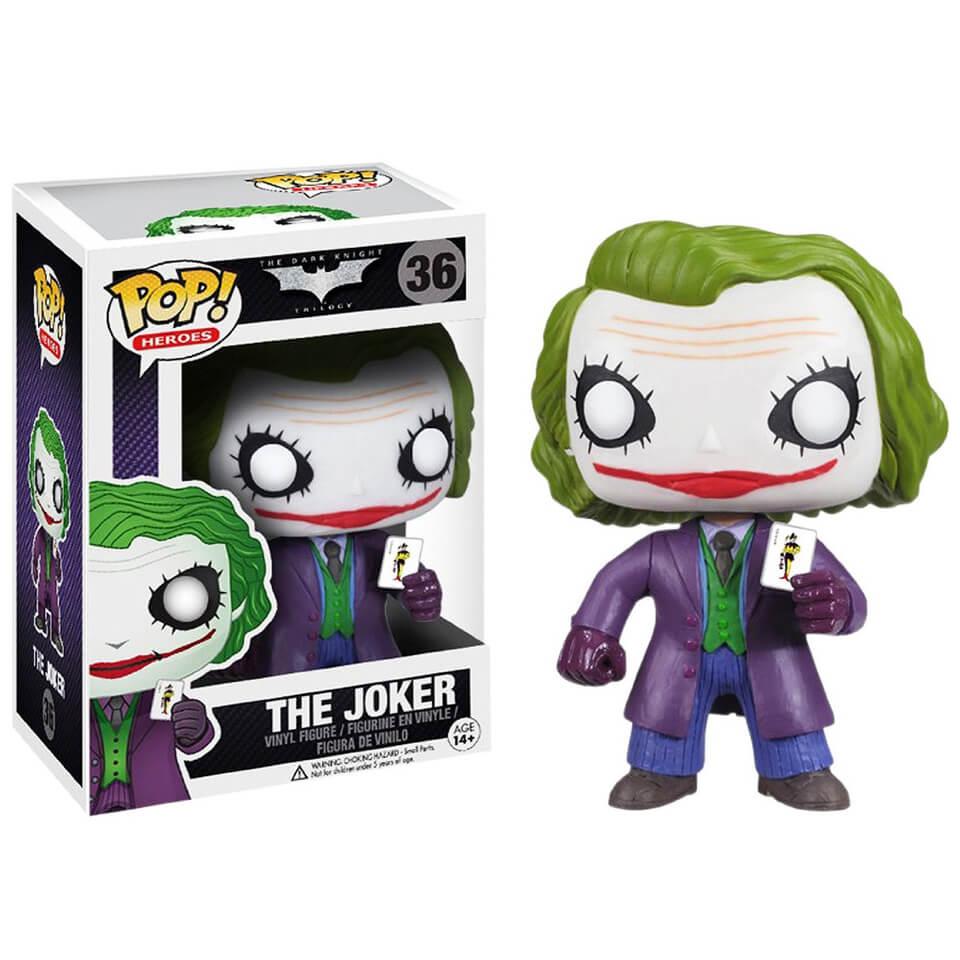 DC Comics Batman The Dark Knight The Joker Pop! Vinyl Figur