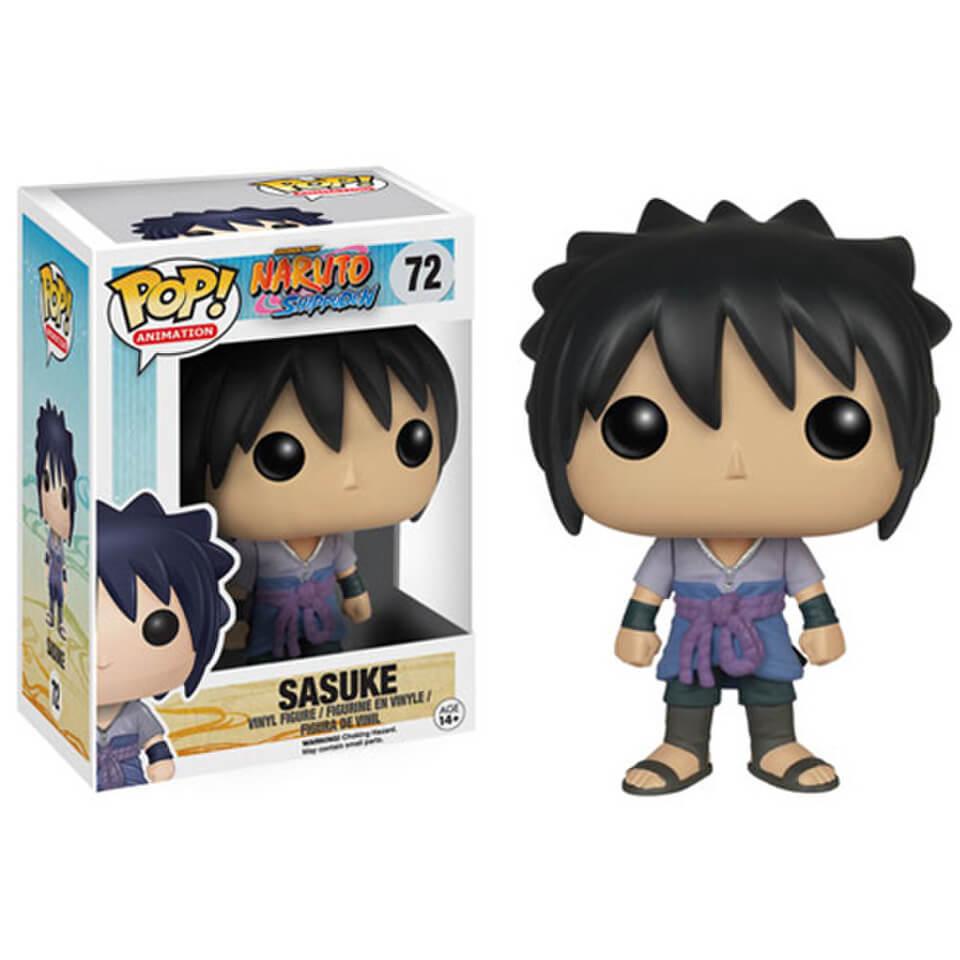 Funko pop sasuke naruto shippuden 455 figure rare new box gift figurine