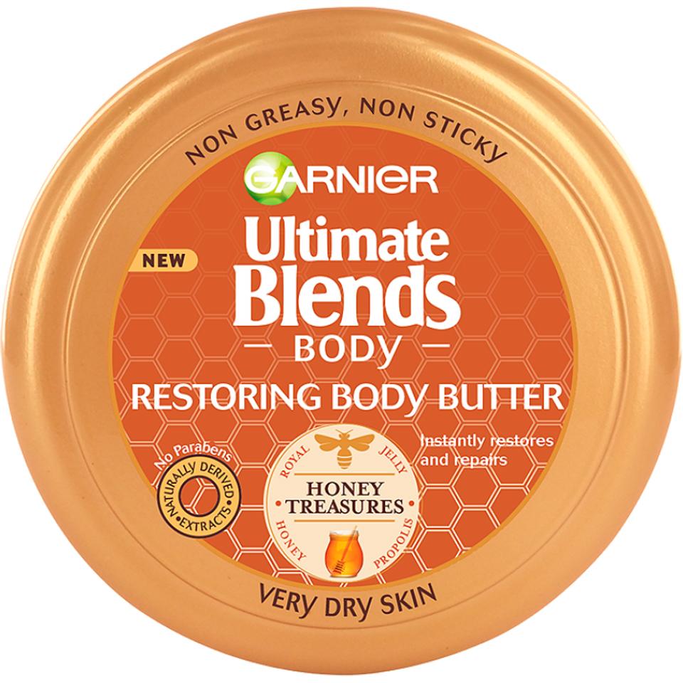 Beurre réparateur pour le corps Ultra Doux de Garnier (200 ml)