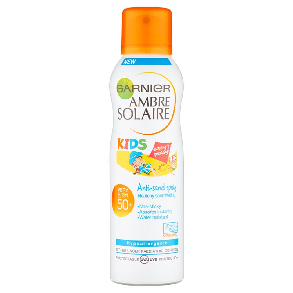 Garnier Ambre Solaire Kids Sensitive Anti-Sand Sun Cream Spray SPF 50+ 200ml