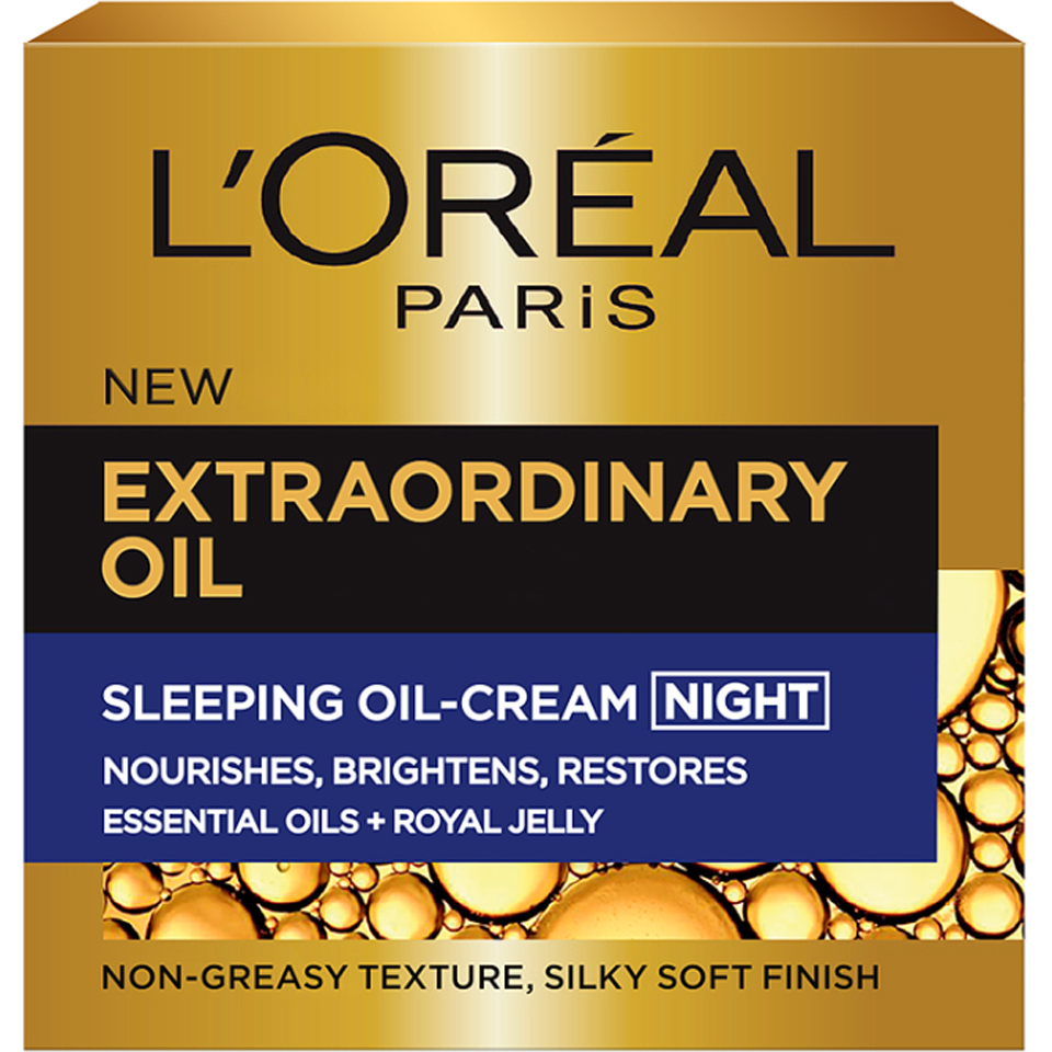 L+ggor+-al Paris Extraordinary Oil Sleeping Oil Night Cream (50ml)