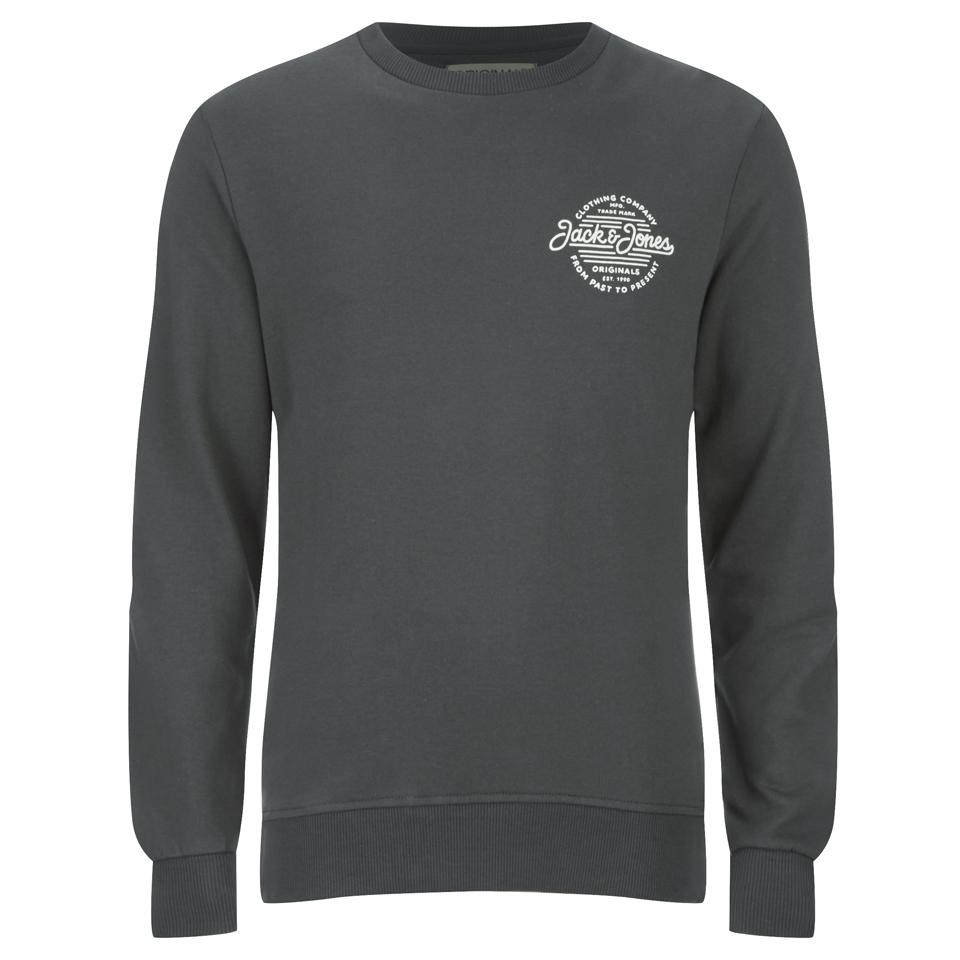 jack-jones-men-originals-smooth-sweatshirt-raven-l