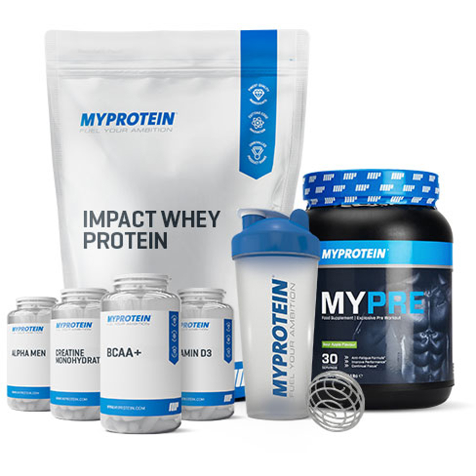 Foto Men's Build Muscle Bundle - Vanilla Myprotein