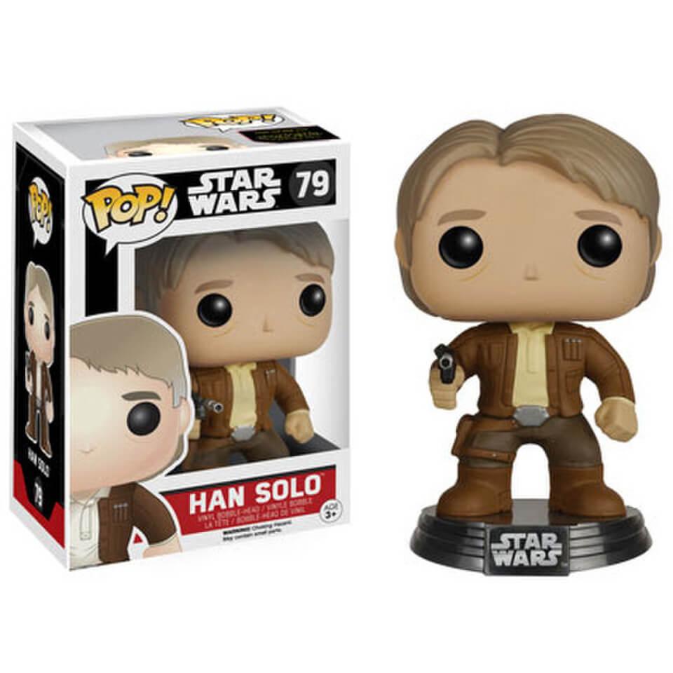 Star Wars Das Erwachen der Macht (The Force Awakens) Han Solo Pop! Vinyl Bobble Head Figur