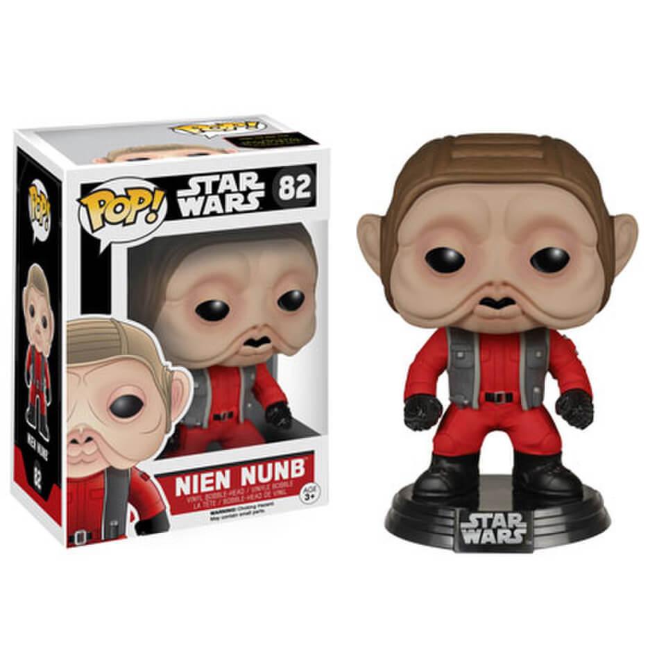 Star Wars Das Erwachen der Macht Nien Nunb Funko Pop! Wackelkopf Figur