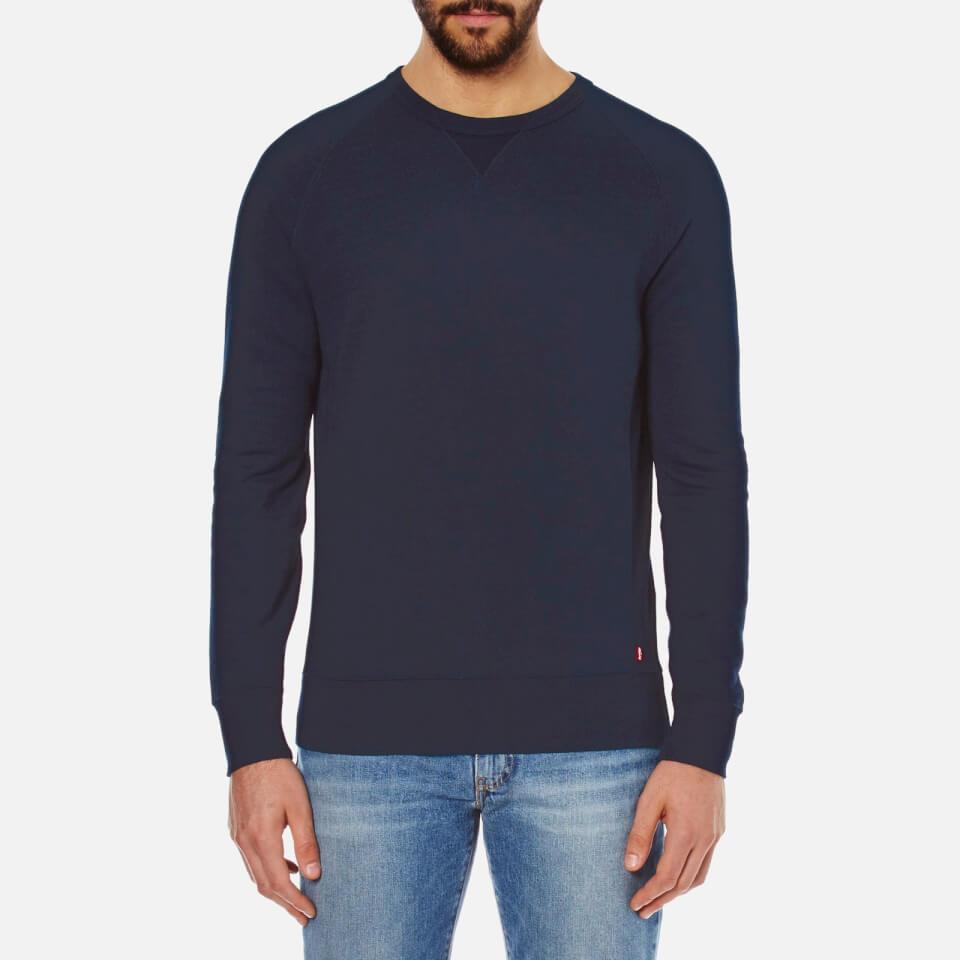 Levis Mens Original Crew Sweatshirt Indigo M