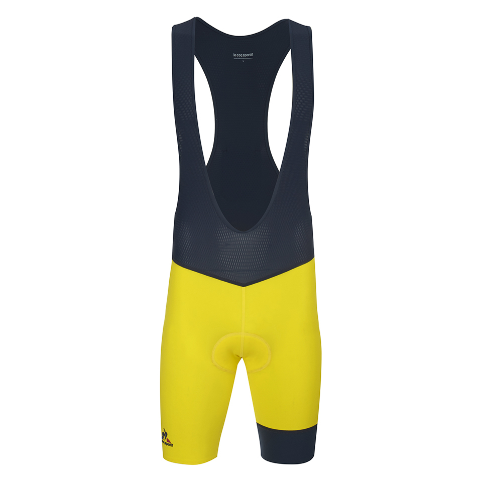 le-coq-sportif-performance-premium-n2-bib-shorts-yellow-xl