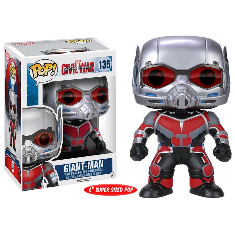 Marvel Captain America Civil War Ant Man 6 Inch Funko Pop! Figur