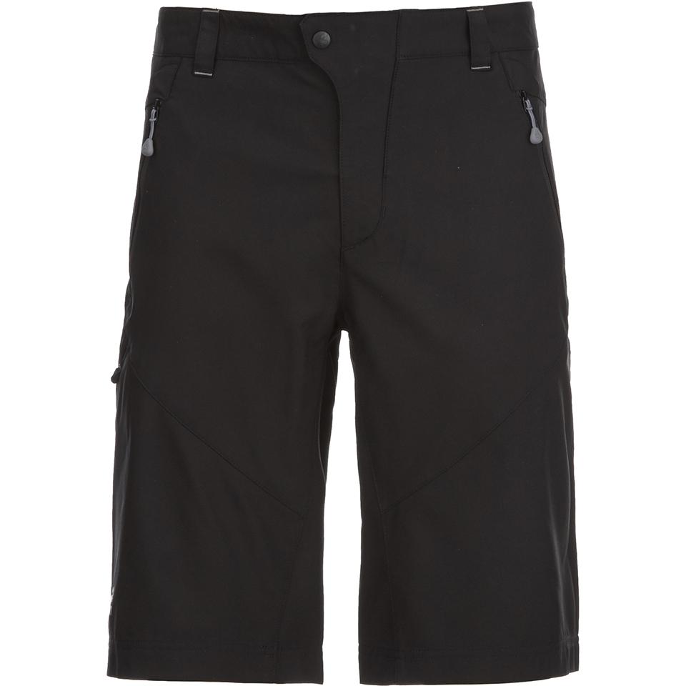 202b9a68be0 Jack Wolfskin Men s Active Track Shorts - Black Mens Clothing ...