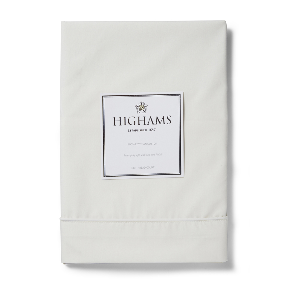 highams-100-egyptian-cotton-pillowcase-cream