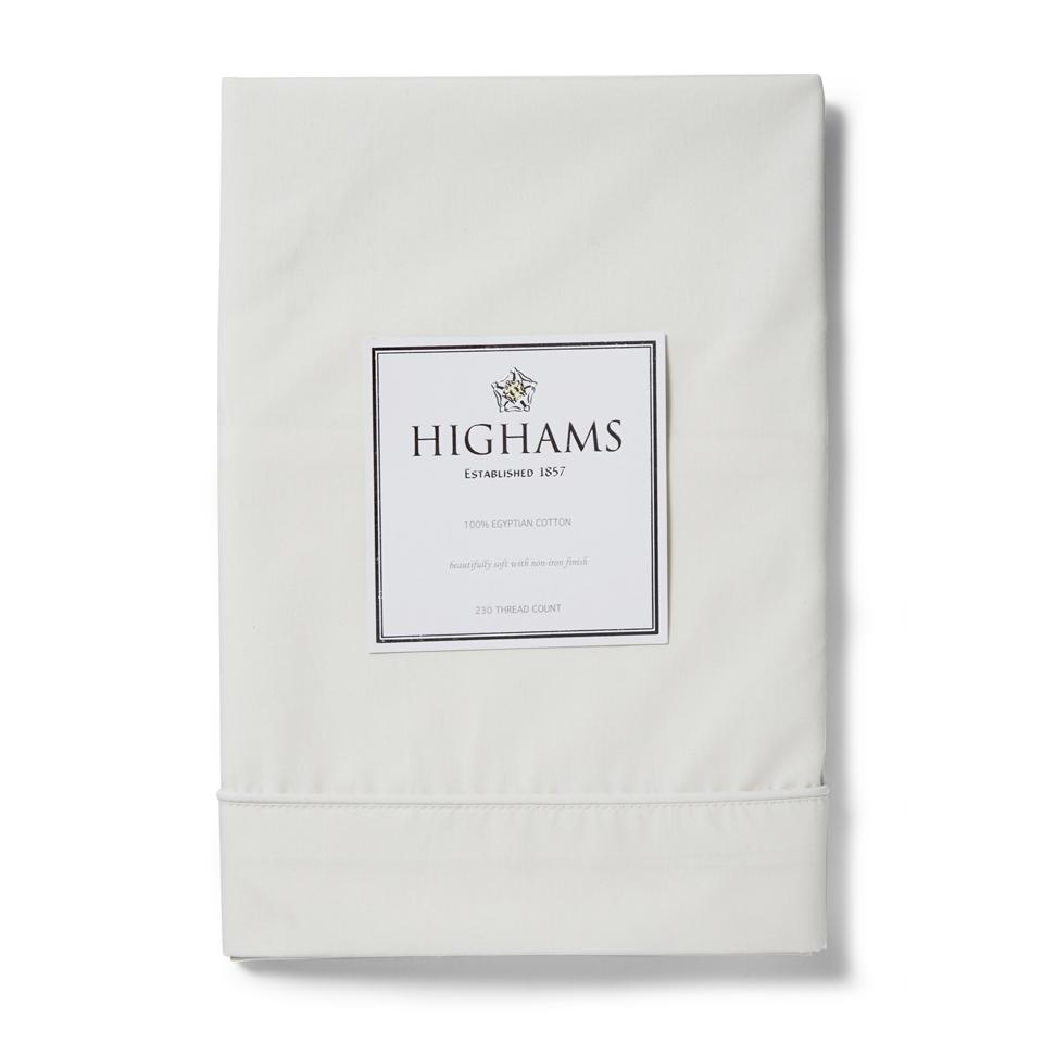 highams-100-egyptian-cotton-pillowcase-cream