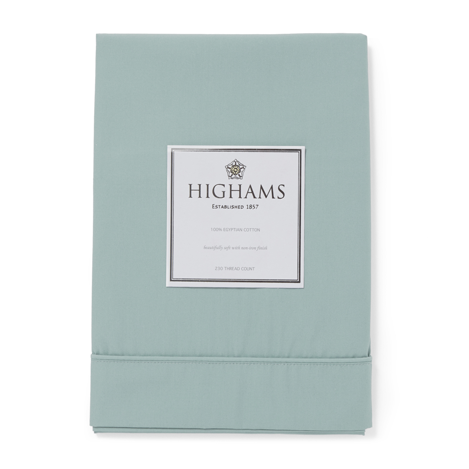 highams-100-egyptian-cotton-pillowcase-duck-egg