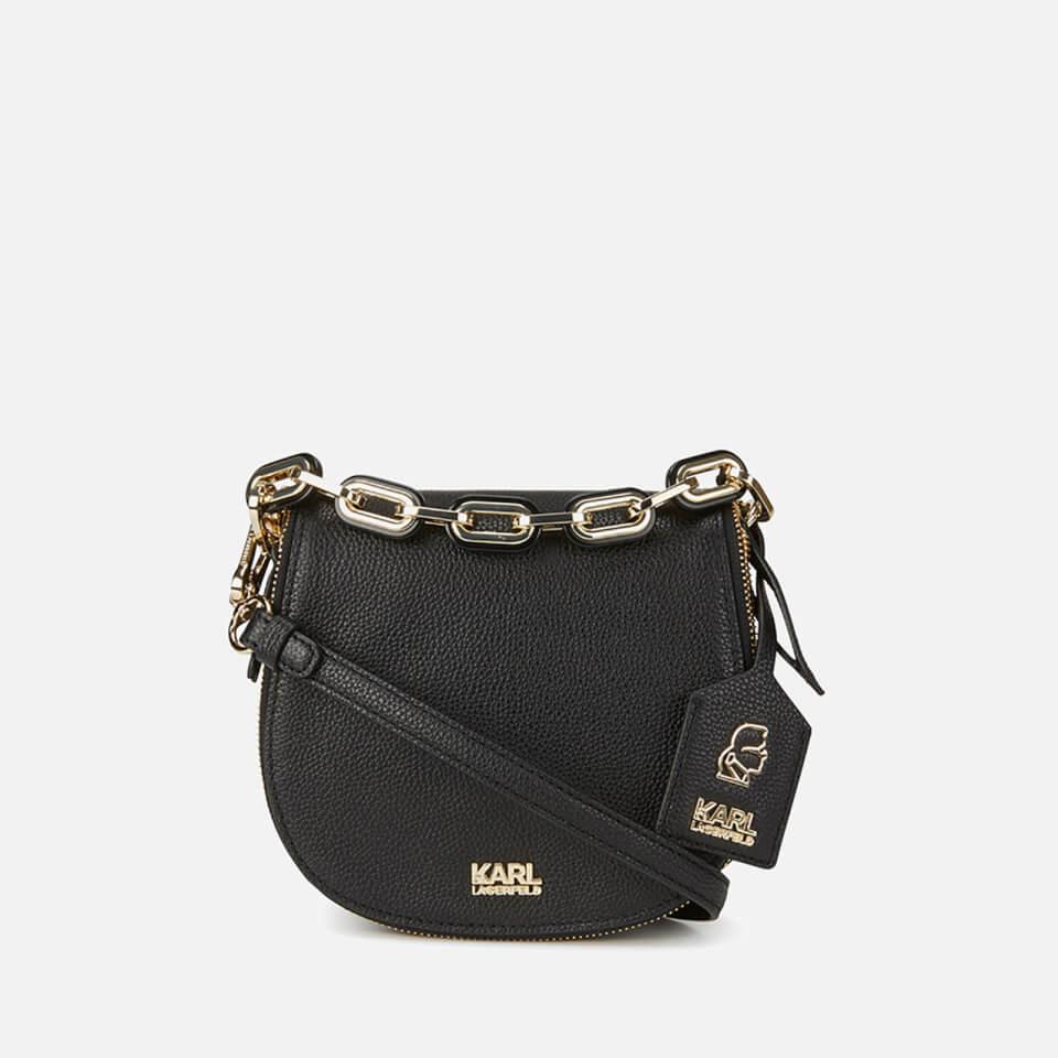 ddd9cecfff48 Karl Lagerfeld Women s K Grainy Satchel Bag - Black
