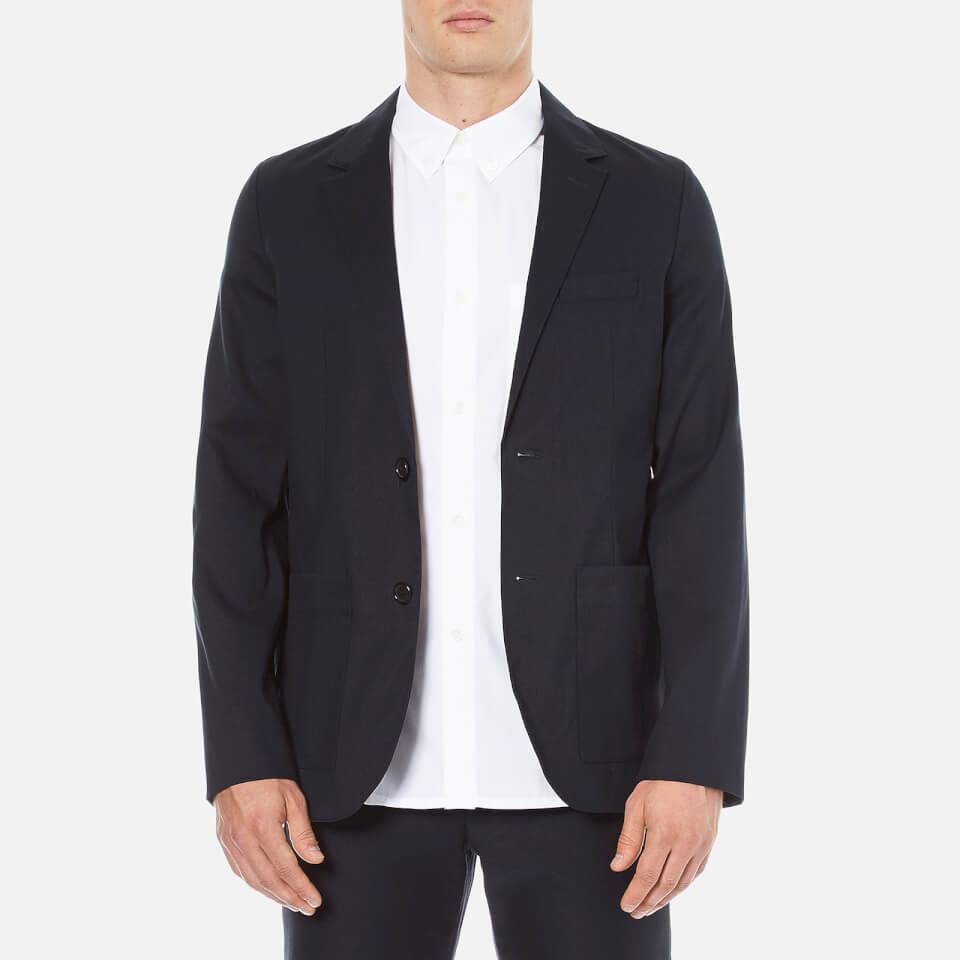 A.p.c. Mens Veste Duckie Suit Jacket Dark Navy M