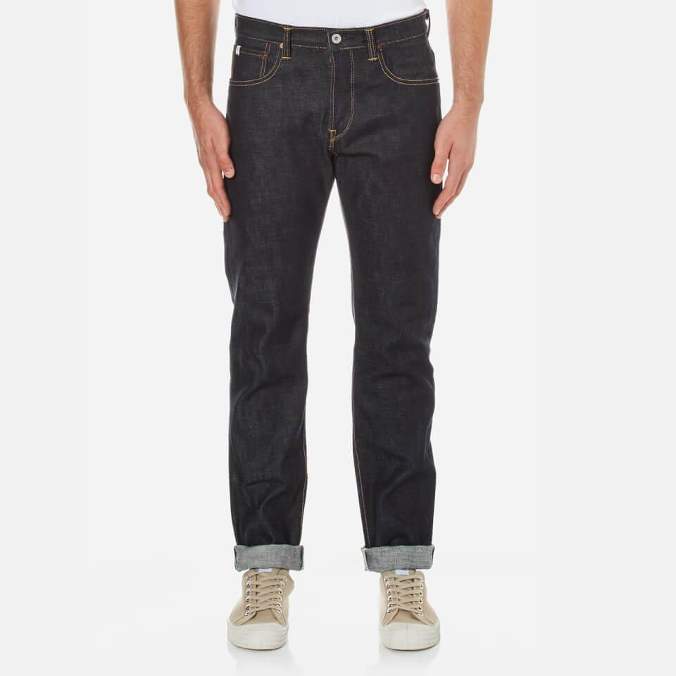 Edwin Mens Classic Regular Tapered Jeans Raw State W34/l32