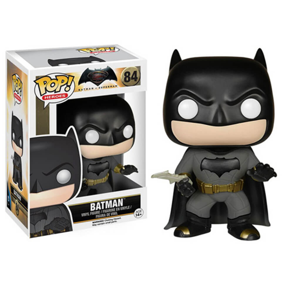 DC Comics Batman v Superman Dawn of Justice Batman Pop! Vinyl Figur