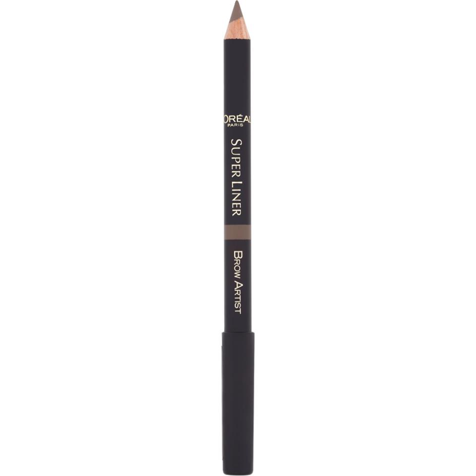 Köpa billiga L'Oréal Paris Super Liner Brow Artist (Various Shades) - Brunette online