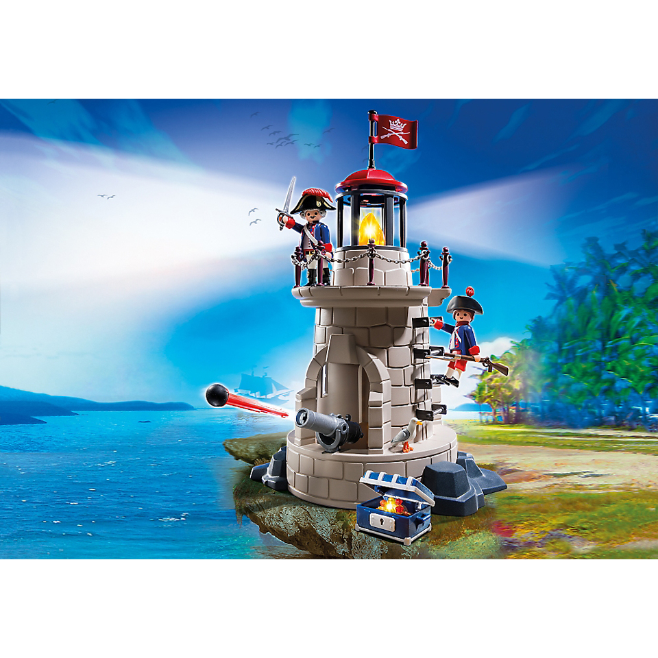 playmobil-pirates-soldier-tower-with-beacon-6680