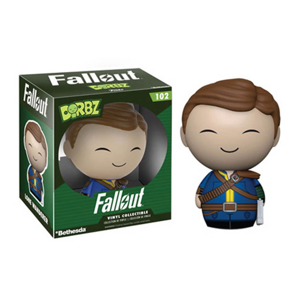 Fallout Lone Wanderer Dorbz Vinyl Figure Pop In A Box Uk