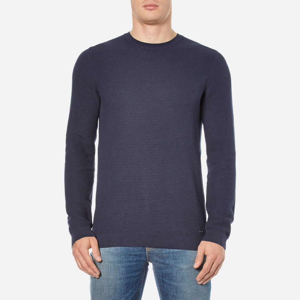 hugo-men-sorito-textured-crew-neck-knitted-jumper-navy-s