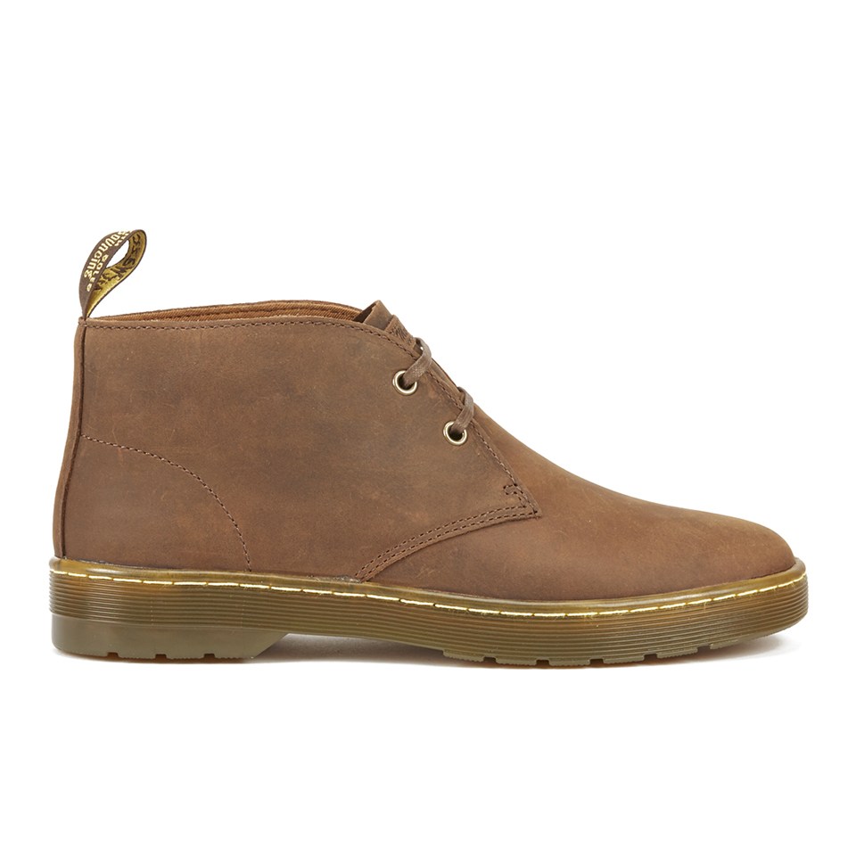 Dr. Martens Mens Cruise Cabrillo Leather Desert Boots Gaucho Uk 9