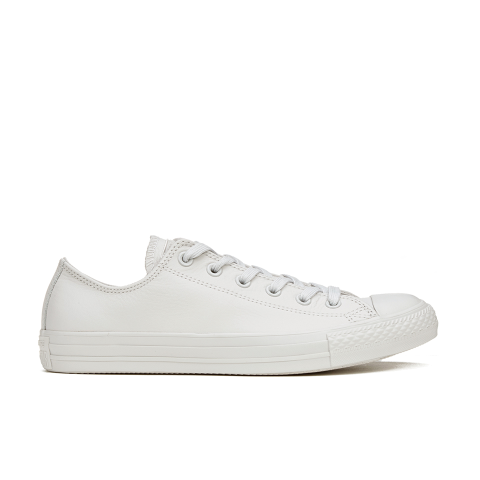 Converse Men s Chuck Taylor All Star Mono Craft Leather Ox Trainers - Mouse  Mens Footwear  9bcf8610d