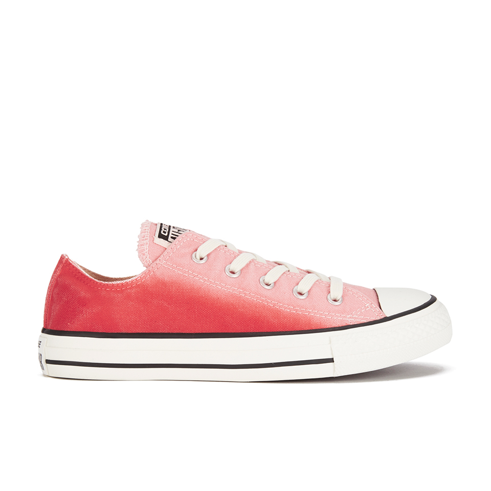 6475e23a0171 Converse Women s Chuck Taylor All Star Sunset Wash Ox Trainers - Daybreak  Pink Break Light