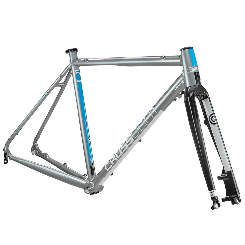 kinesis-crosslight-5t-disc-frameset-steel-grey-54cm