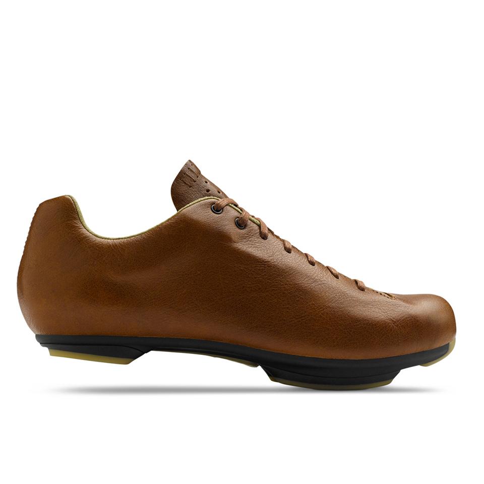 giro-republic-lx-road-cycling-shoes-sepia-leatherblack-eur-40-black