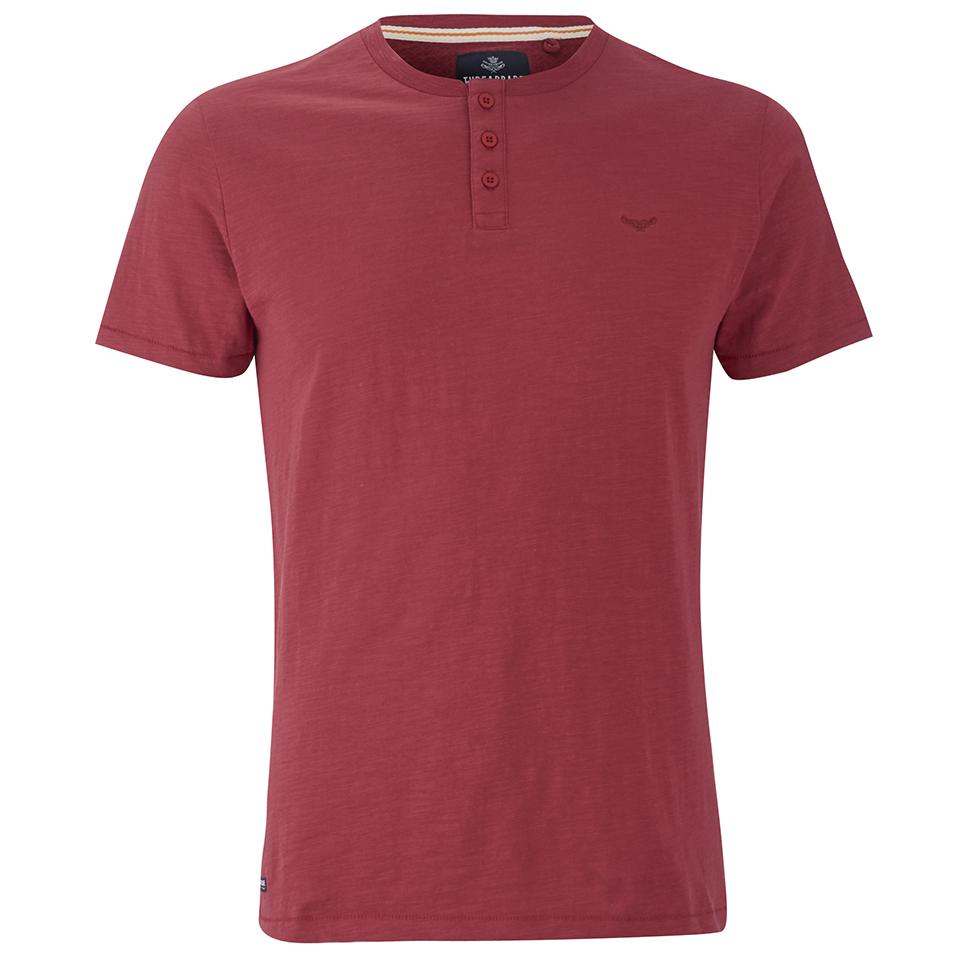 threadbare men 39 s oliver grandad t shirt rust clothing. Black Bedroom Furniture Sets. Home Design Ideas